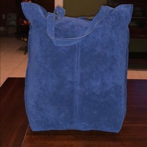 Barbieri Barbara Made In Italy  Leather Suede Tote